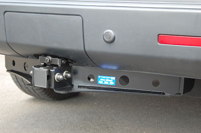 range rover sport detachable towbar fitting instructions