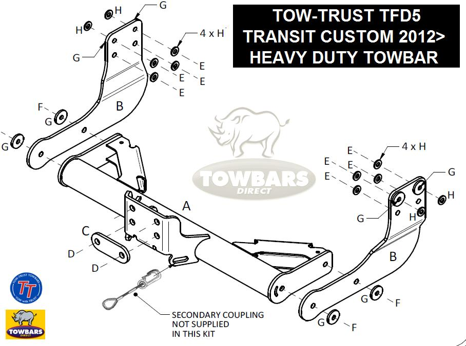 ford transit connect tow bar wiring diagram ford mopar wiring diagrams images on ford transit connect tow bar wiring diagram
