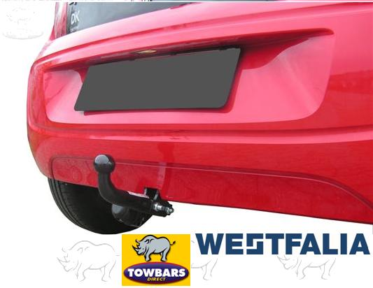 Swan Neck Towbar for Volkswagen Up, Skoda Citigo & Seat Mii for Cycle Carriers