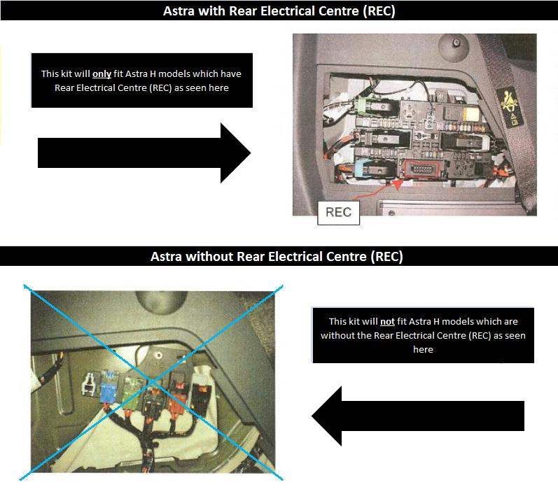 7 pin towbar wiring kit vauxhall astra h estate 04 10 with rec item specifics asfbconference2016 Choice Image